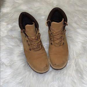 Brown Timberland boots original 8M